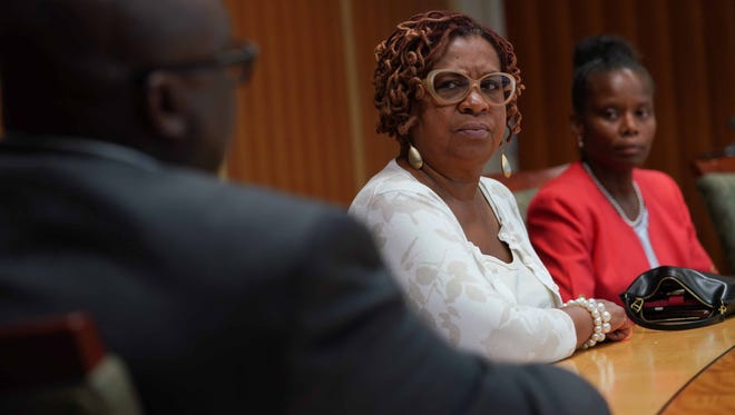 City Council President Hanifa Shabazz talks about allegations that former Wilmington City Council President Theo Gregory violated the city's code of conduct.