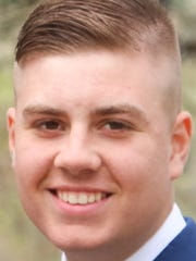 2015 Kimball High School graduate Isaiah Ehlinger.