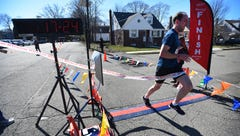 Runners brave cold weather for Purim 5K
