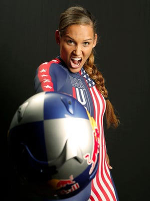Lolo Jones is one of 10 U.S. athletes to compete in both the Summer and Winter Olympics.