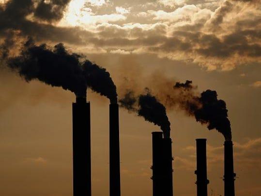 A Duke Energy Corp. Coal Fired Power Plant