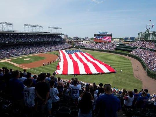 MLB: JUL 04 Rays at Cubs