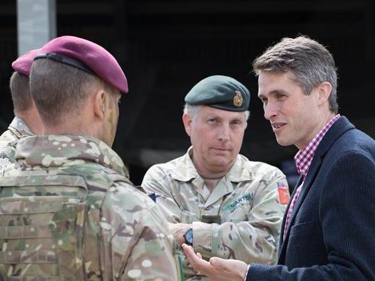 Defence Secretary Gavin Williamson ObservesThe NATO Joint Warrior Exercise