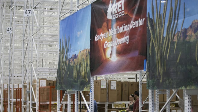 REI opened a new warehouse in Goodyear in July. The last day the company's store in Tempe will be open is Sunday, March 5.