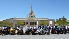 Faith-based motorcycle club holds national rally in Southern Utah