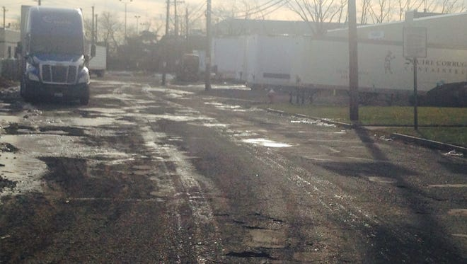 Kero Road is one of five roads that will be repaved using a $3.4 million grant awarded to Carlstadt.