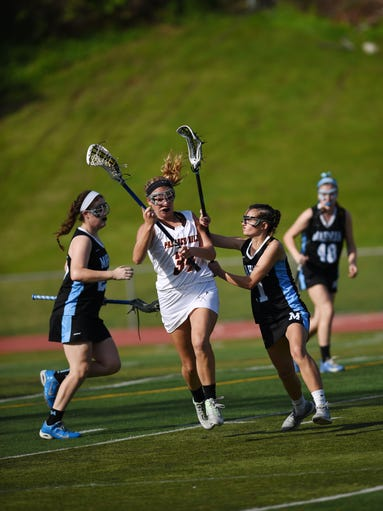 North 1, Group 2 quarterfinal game between Mahwah and