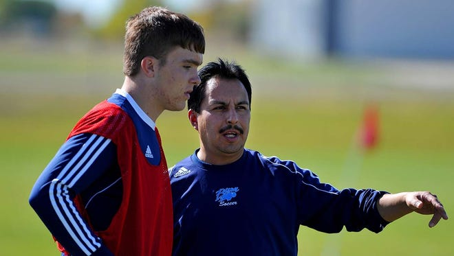 Great Falls High head coach Lalo Cabrales and the Bison will be back on the Siebel Soccer Park pitch Saturday.