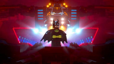 """This image released by Warner Bros. Pictures shows Batman, voiced by Will Arnett, in a scene from """"The LEGO Batman Movie."""""""