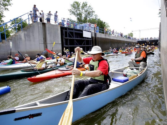 Boaters, canoeists and kayakers have been longing for the reopening of the Menasha lock.