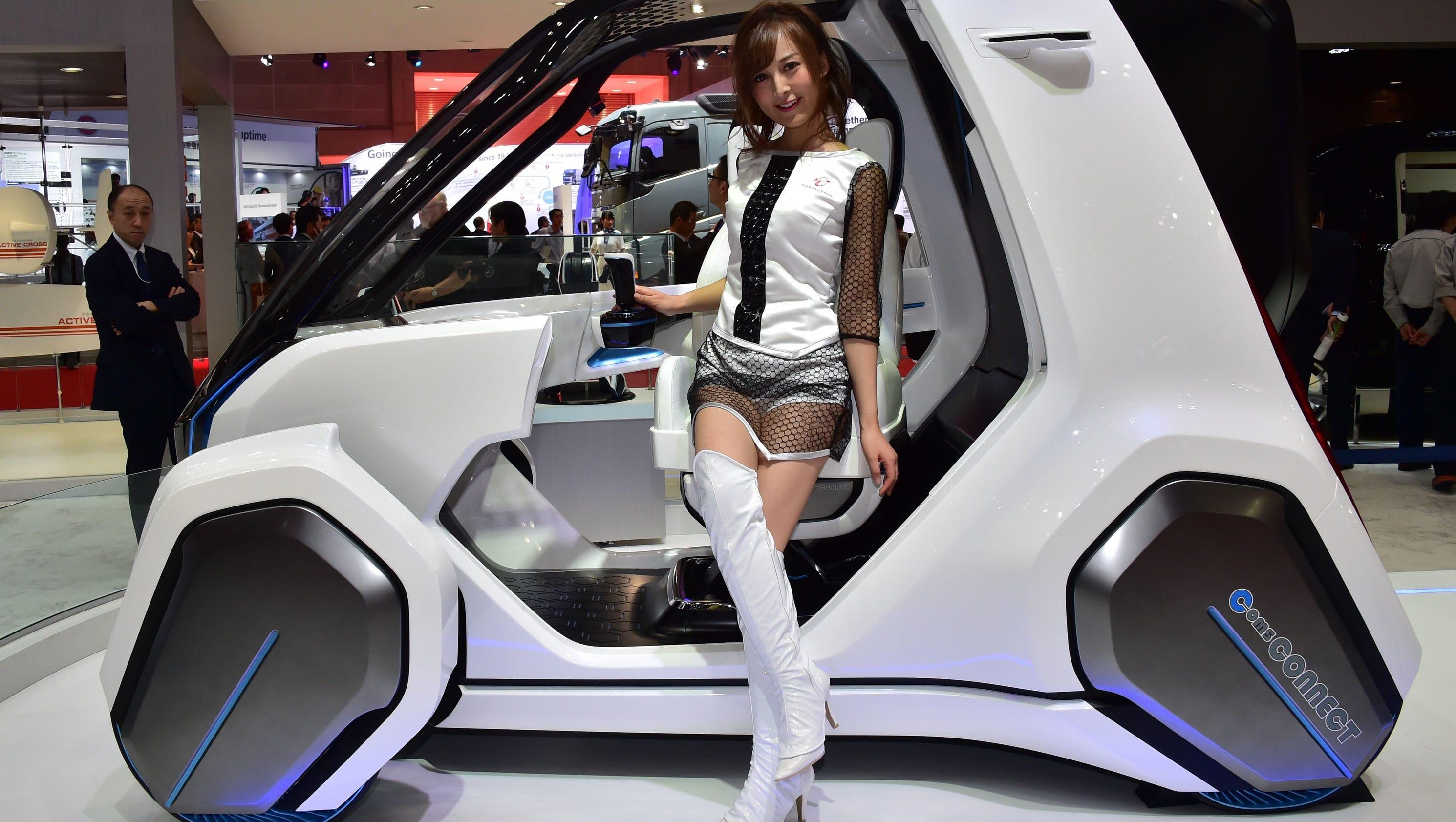 Wild Car Designs Debut At Tokyo Motor Show