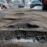 Voters go to the polls May 5 on a proposal to raise money to fix the roads.