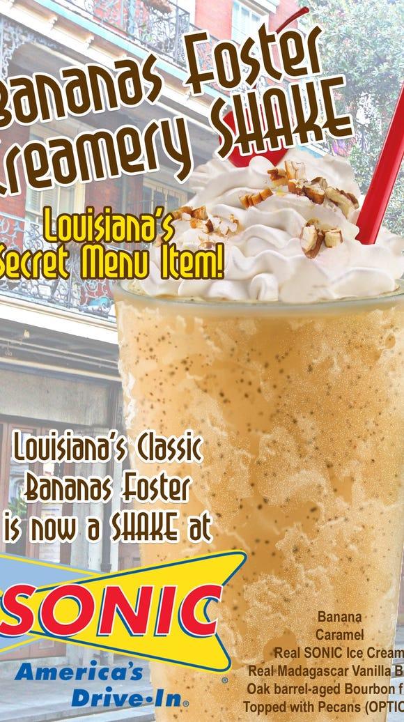 Louisiana Sonic locations recently introduced a bananas