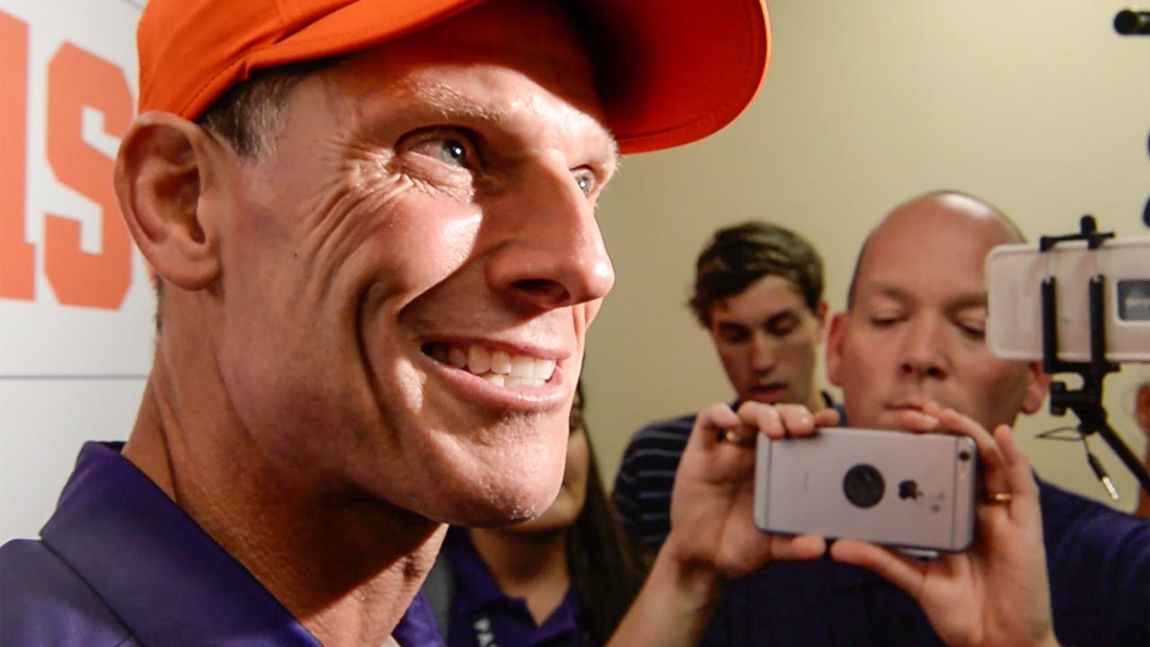 Clemson Wake postgame with Brent Venables