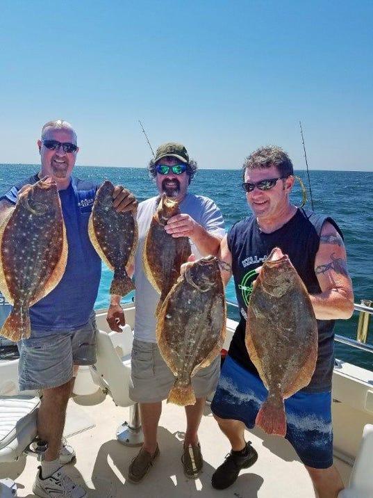 N J Fluke Fishermen Get Longer Season Possible Sea Bass