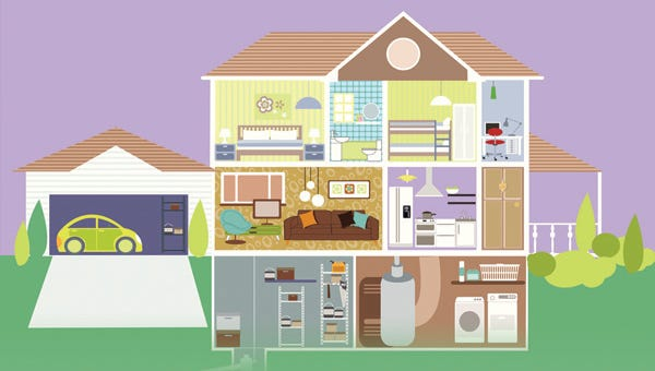 Courier-Post Home Makeover contest