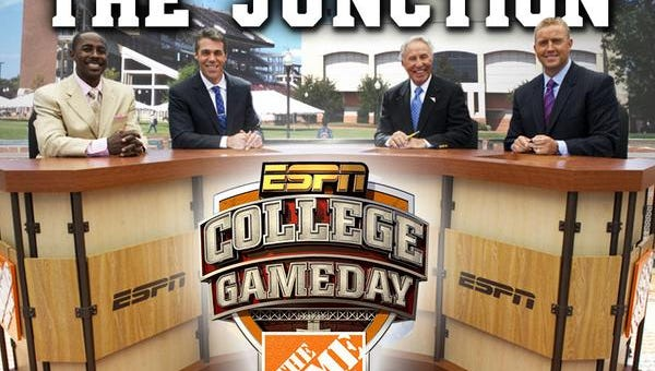 ESPN College GameDay will be in Starkville Saturday for Mississippi State's game against Auburn.