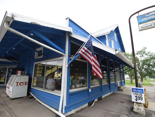 The Olivesburg General Store has been serving the community