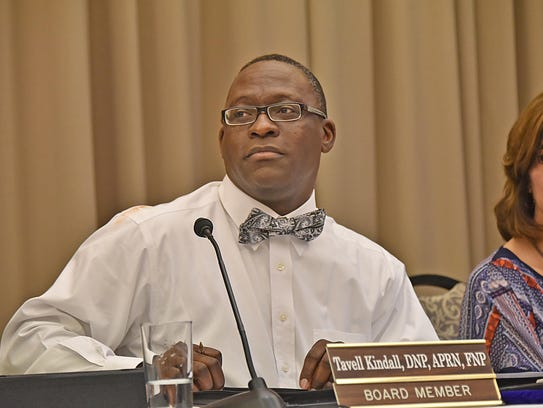Tavell Kindall, a member of the Louisiana State Board