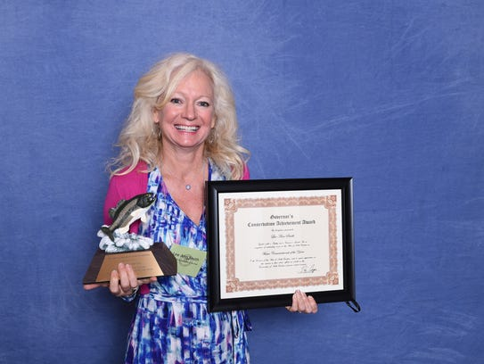 Lee Ann Smith won the Water Conservationist of the