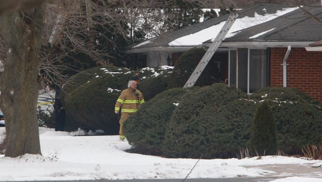 A woman was found dead during a house fire at 1066 Hrezent View Lane in Webster on Friday.