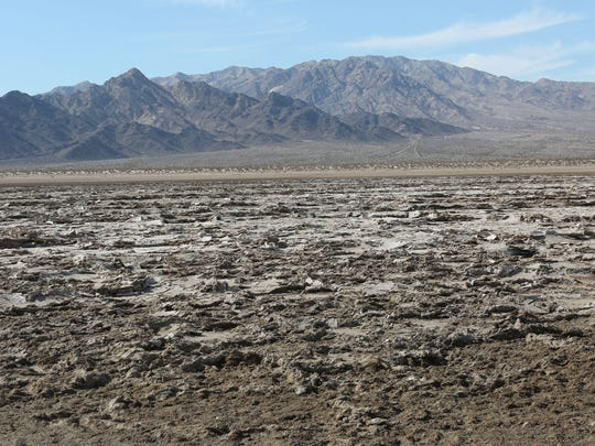 Bristol Dry Lake just south of Amboy in the Mojave