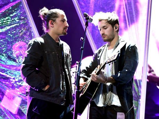 The singing duo Mau & Ricky features Mauricio and Ricardo