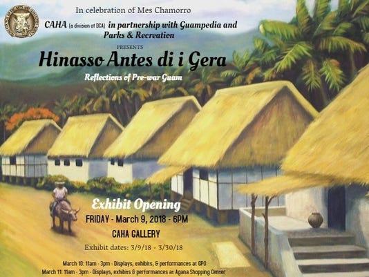 CAHA Mes Chamoru exhibit