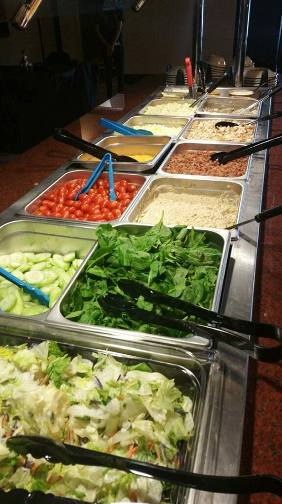 A salad bar will be offered a la carte or as an add-on