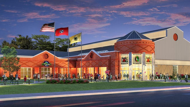 A rendering of the future Wilson County expo center now approved.