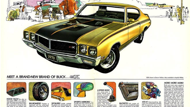 Joe's collector car is one of the most powerful Buick's ever built, the 1970 Buick GSX 455. Unfortunately, like all of the muscle cars from the 1960 to 1970 era, it offered little high-tech safety other than seat belts.