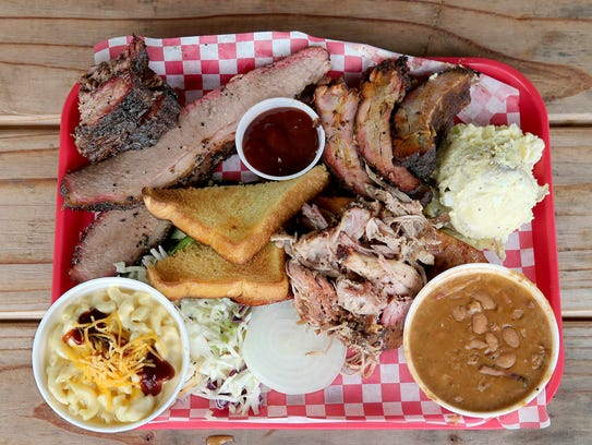 A meal at Danny's BBQ in Silverdale.