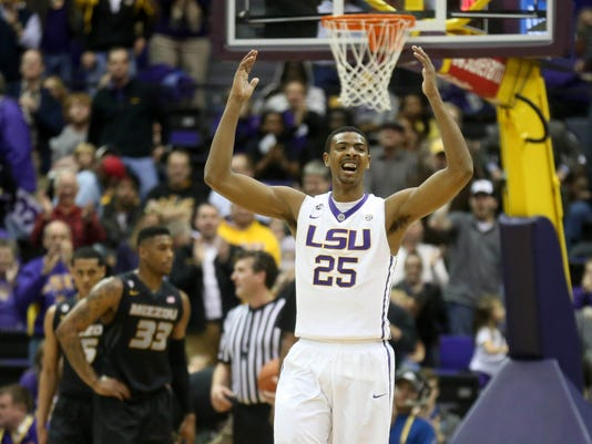 NCAA Basketball: Missouri at Louisiana State