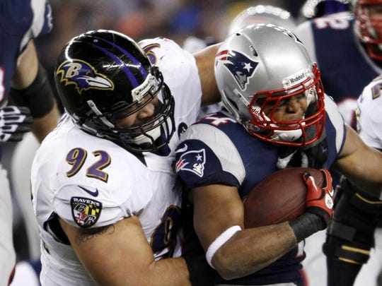 Haloti Ngata in game action vs. the New England Patriots