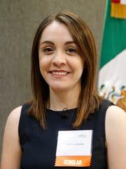 Marcela Aguilera, scholarship recepiant.