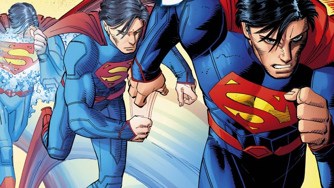 """Artist John Romita J. tackles the Man of Steel for the first time as one half of the new """"Superman"""" creative team with writer Geoff Johns."""