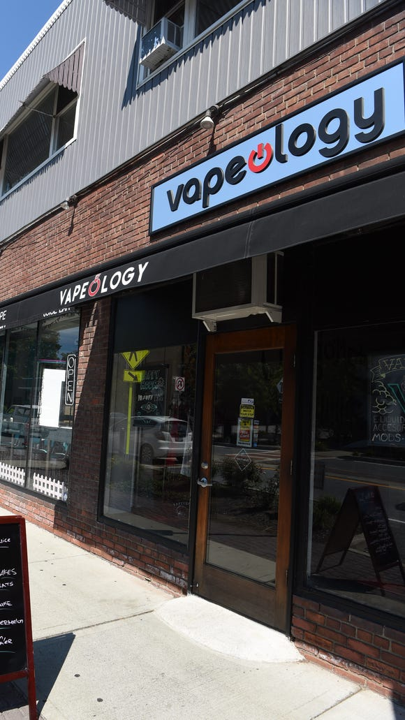 Vapeology, located on Raymond Avenue in the Town of Poughkeepsie.