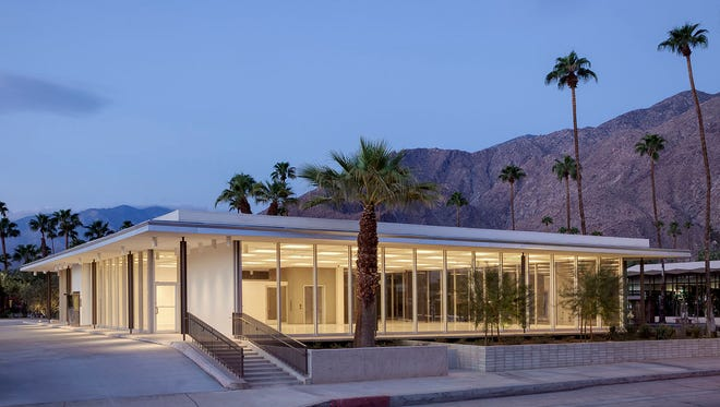 First look inside the new Architecture and Design Center, set to open to the public in November, photographed for Desert Magazine by David Blank, davidblankphoto.com.
