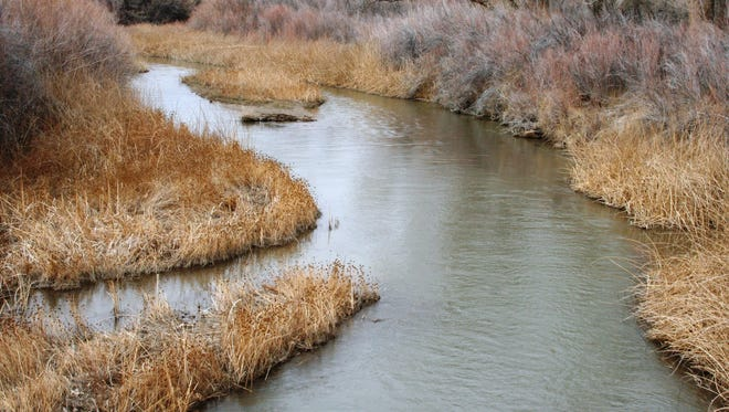 The Walker River, with no green seen along its banks, meanders northward Friday from the Lux Lane bridge in north Mason Valley, with much less water than usual. Three orders dated May 28 were signed by U.S. District Judge Robert C. Jones. A motion hearing had been held before the judge in U.S. District Court, District of Nevada, in Reno on May 4.