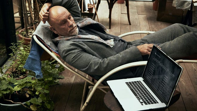 John Malkovich is in a 60-second ad for Squarespace, an all-in-one publishing tools company.