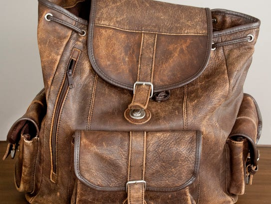 Stylemaker Davis Jolly found this 1960's brown leather