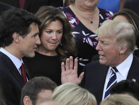 Trump, Trudeau