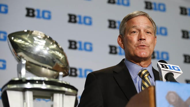 Iowa coach Kirk Ferentz announces defensive back Jalen Embry will transfer.