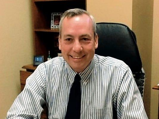 Ruidoso School Board President Greg Cory.