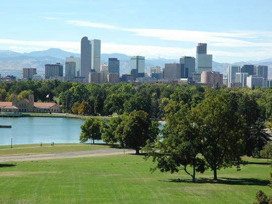If you want to leave East Tennessee but stay near the mountains, head for Denver, Colorado.
