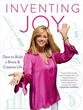 """Invention Joy"" by Joy Mangano. $26.00 Availability: Coming Soon - Available for Pre-Order Now. Published: Simon & Schuster, November 7, 2017"