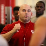 New IU athletic performance coaches mix cutting-edge technology with familiar lifts