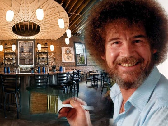 Bob Ross Night at American Fifth Spirits and Distillery
