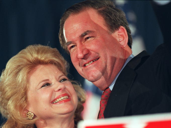 Pat Buchanan, who finished a strong second in the caucuses,