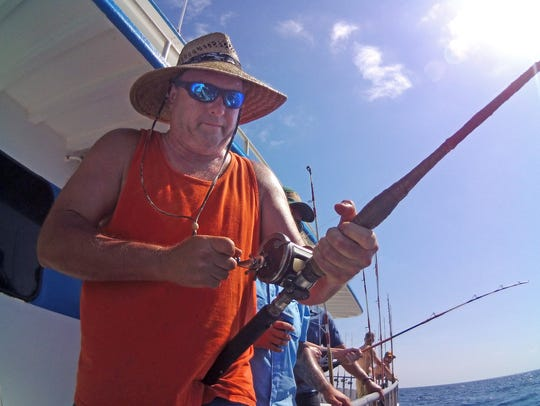 All 28 anglers aboard the Kingfisher caught their two